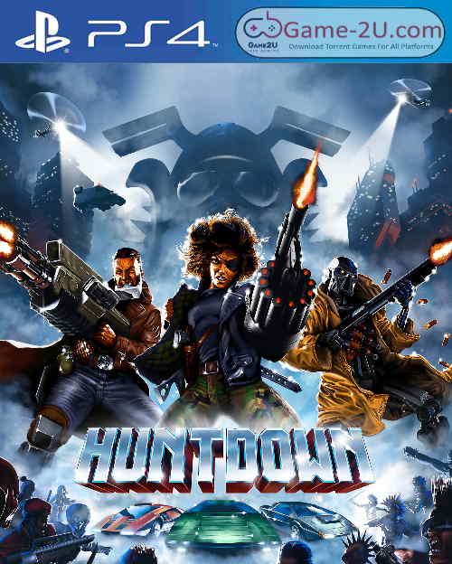 Huntdown PS4 PKG