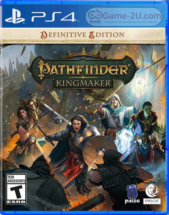 Pathfinder Kingmaker - Definitive Edition PS4 PKG