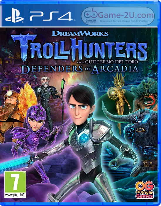 Trollhunters Defenders of Arcadia PS4 PKG