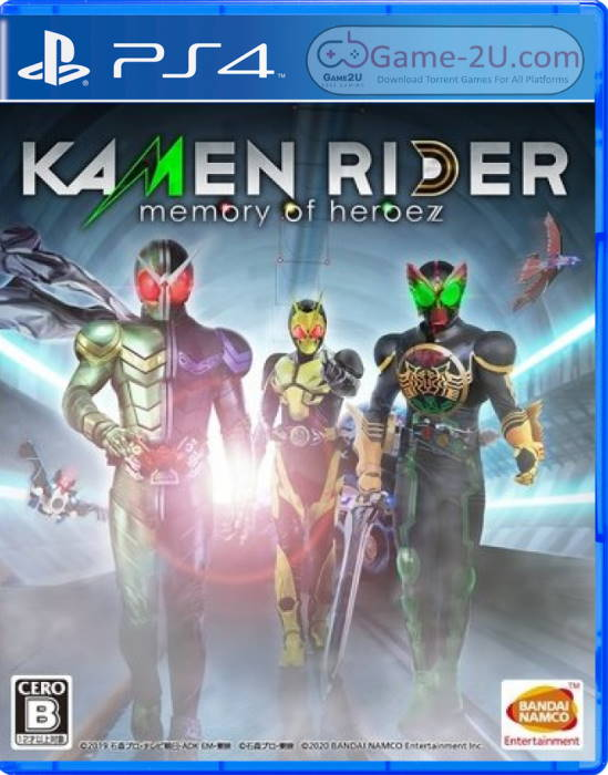 KAMEN RIDER memory of heroez PS4 PKG