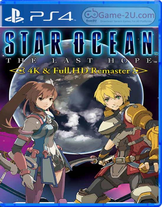 Star Ocean The Last Hope - 4K and Full HD Remaster PS4 PKG