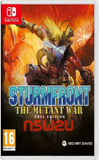 SturmFront - The Mutant War Ubel Edition Switch NSP XCI NSZ