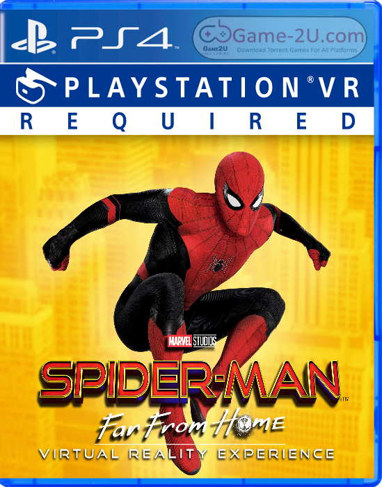 SPIDER-MAN FAR FROM HOME VIRTUAL REALITY EXPERIENCE PS4 PKG