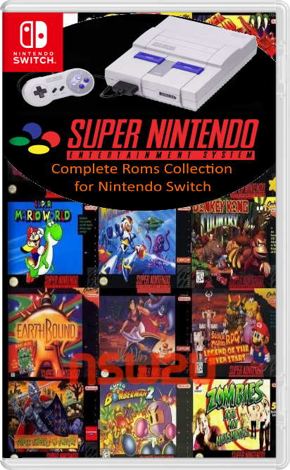 SNES Complete Roms Collection for Nintendo Switch NSP Download