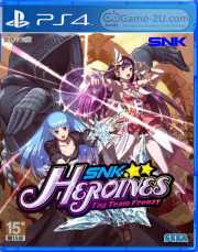 SNK HEROINES Tag Team Frenzy PS4 PKG