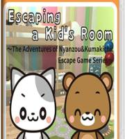 Escaping a Kid's Room~The Adventures of Nyanzou&Kumakichi: Escape Game Series~ Switch NSP XCI NSZ