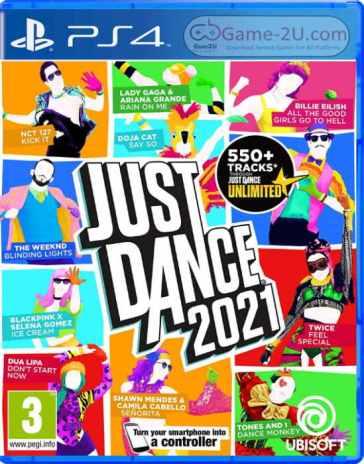 Just Dance 2021 PS4 PKG