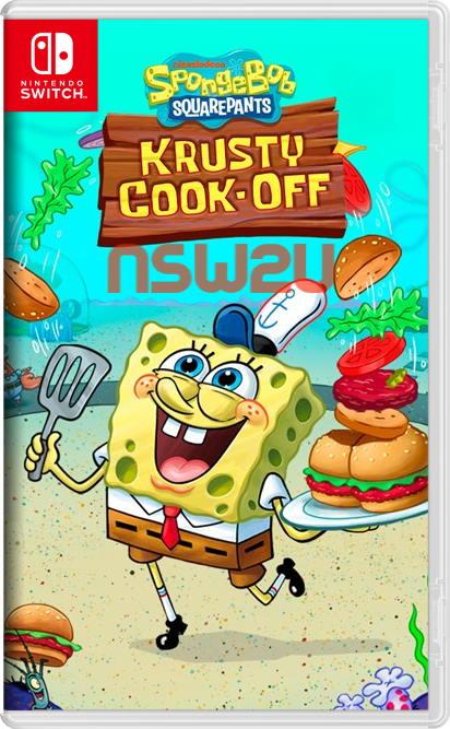 SpongeBob Krusty Cook-Off Switch NSP XCI NSZ