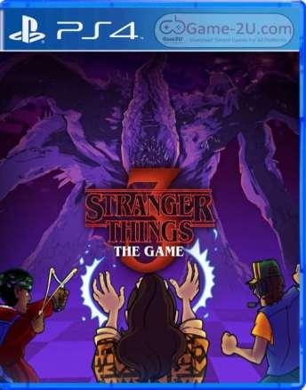 Stranger Things 3 The Game PS4 PKG