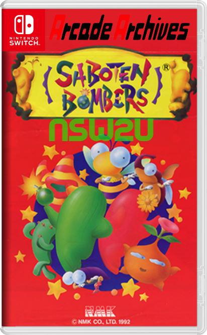 Arcade Archives SABOTEN BOMBERS Switch NSP XCI NSZ