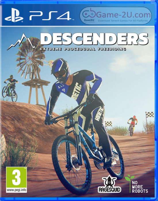 Descenders PS4 PKG