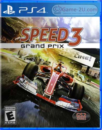 Speed 3 Grand Prix PS4 PKG