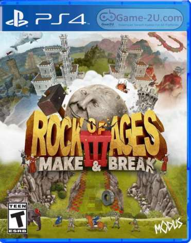Rock of Ages 3 Make and Break PS4 PKG