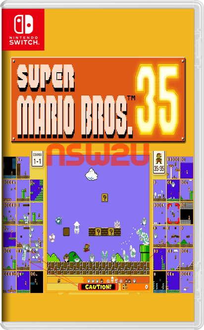 Super Mario Bros. 35 Switch NSP XCI NSZ