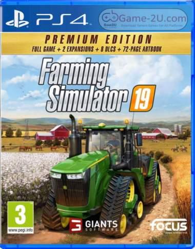 Farming Simulator 19 - Premium Edition PS4 PKG