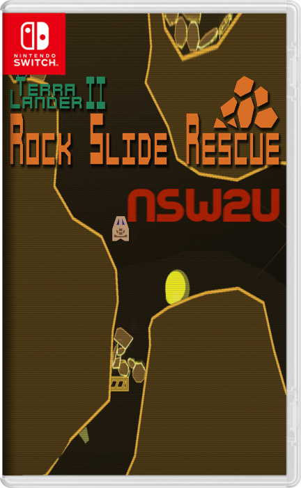 Terra Lander II - Rockslide Rescue Switch NSP XCI NSZ