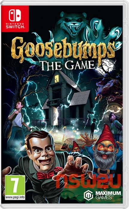 Goosebumps The Game Switch NSP XCI NSZ