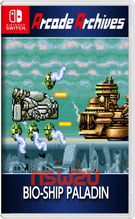 Arcade Archives BIO-SHIP PALADIN Switch NSP XCI NSZ