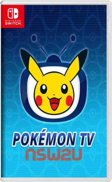 Pokémon TV Switch NSP XCI NSZ