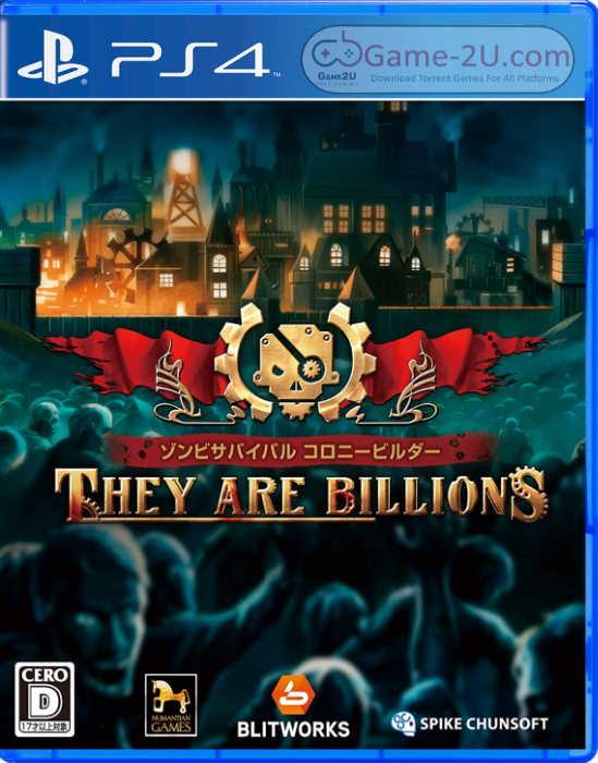 ゾンビサバイバル コロニービルダー They Are Billions PS4 PKG