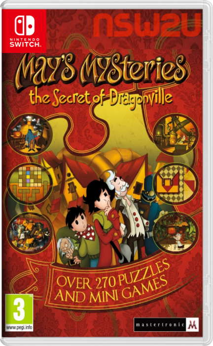 Mays Mysteries The Secret of Dragonville Switch NSP XCI NSZ