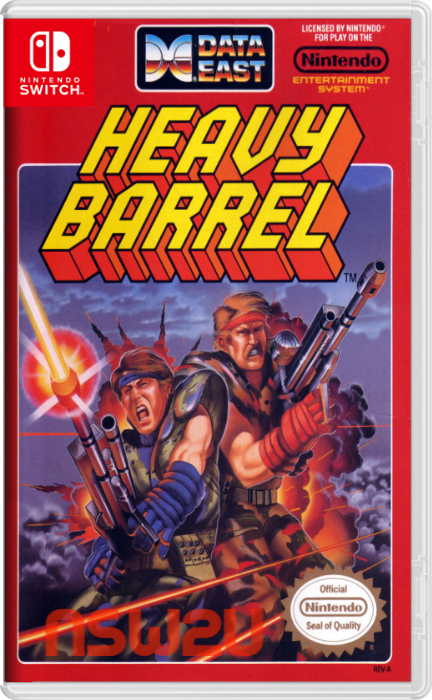 Johnny Turbos Arcade Heavy Barrel Switch NSP XCI NSZ