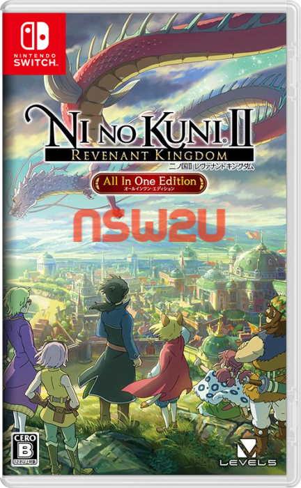 Ni no Kuni II Revenant Kingdom All In One Edition Switch NSP XCI NSZ