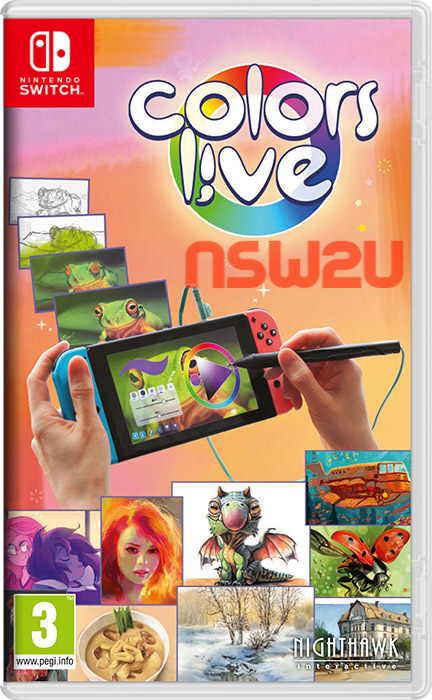Colors Live Switch NSP XCI NSZ