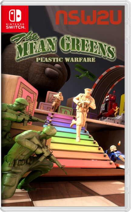 The Mean Greens - Plastic Warfare Switch NSP XCI NSZ