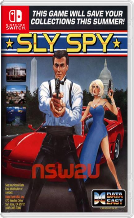 Johnny Turbos Arcade Sly Spy Switch NSP XCI NSZ
