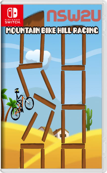 Mountain Bike Hill Climb Race Real 2D Arcade Dirt Racing Games Switch NSP XCI NSZ