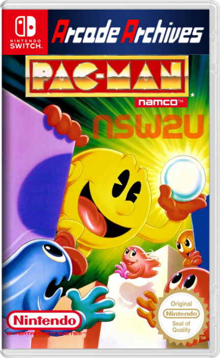 Arcade Archives PAC-MAN Switch NSP XCI NSZ