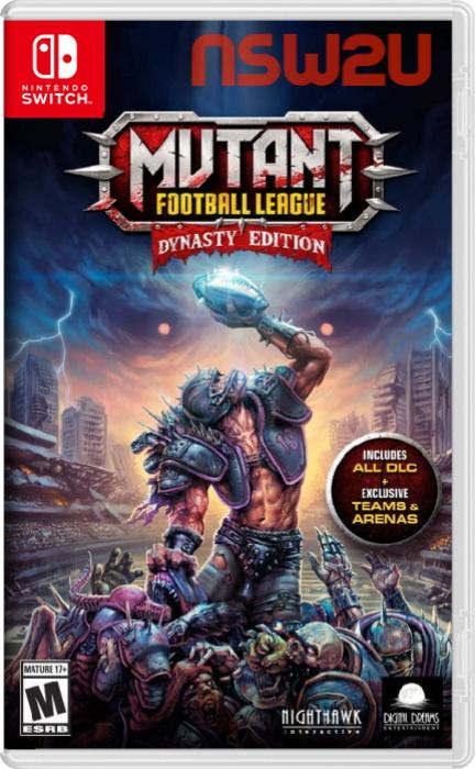 Mutant Football League Dynasty Edition Switch NSP XCI NSZ