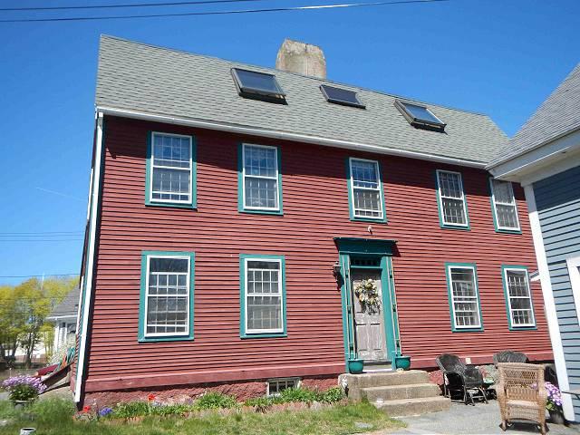 Sanders, Capt. Thomas House, 10 East Main St, circa 1736, Gloucester MA