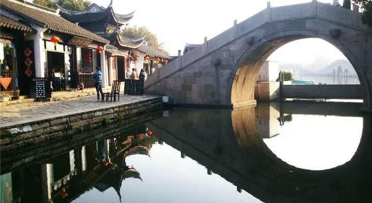 Villaggi di Acqua pi belli in CinaZhouzhuangTongli Wuzhen