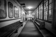 Haunted School Hallway