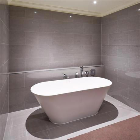 Rak 6 Lounge Dark Grey Porcelain Polished Tiles 300x600mm A09gloun 054 X0p At Victorian Plumbing Uk