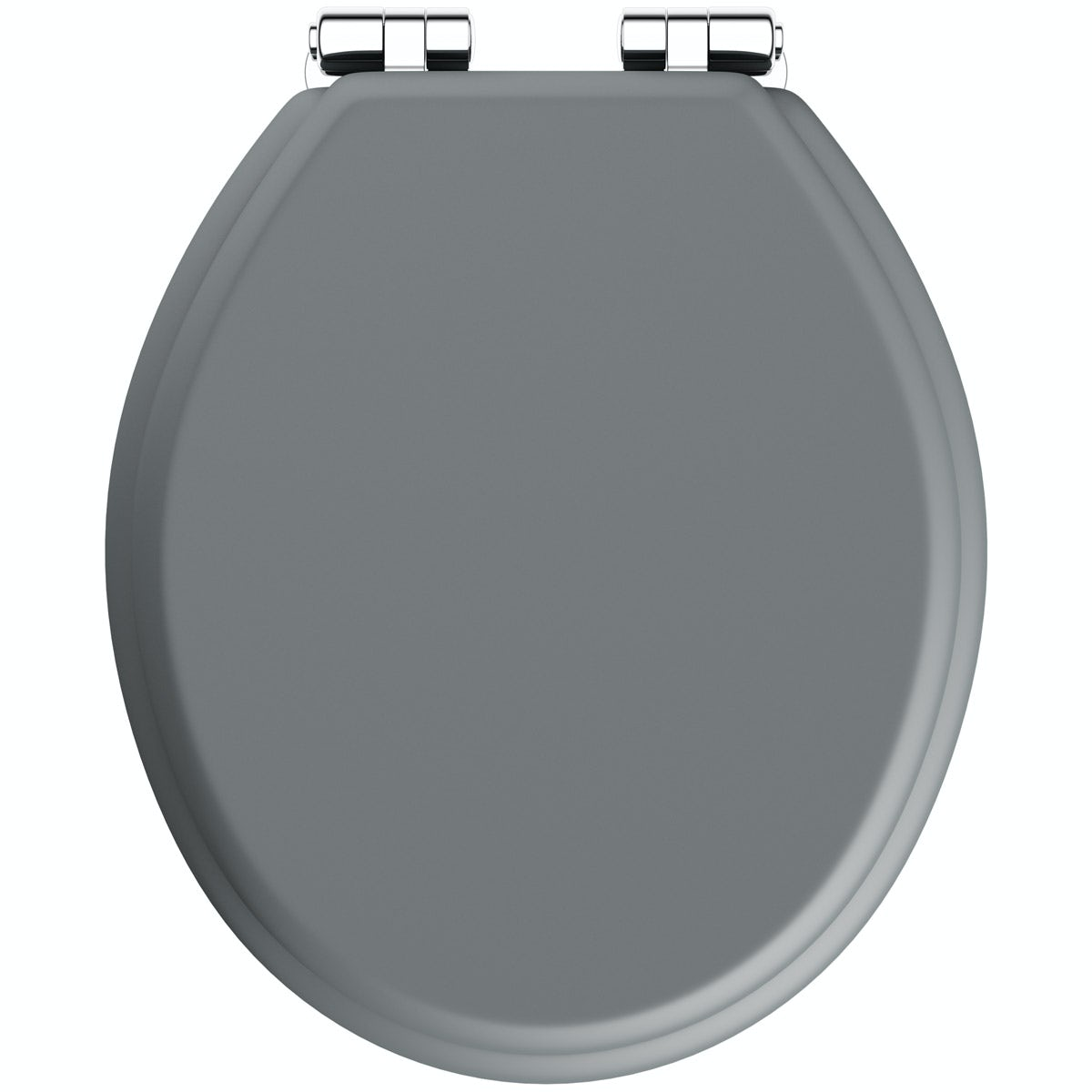 The Bath Co Traditional Dulwich Stone Grey Engineered Wood Toilet Seat With Top Fixing Soft Close Hinge Victoriaplum Com