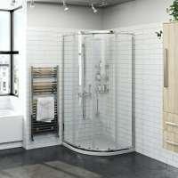 Orchard 6mm two door quadrant shower enclosure 800 x 800 ...