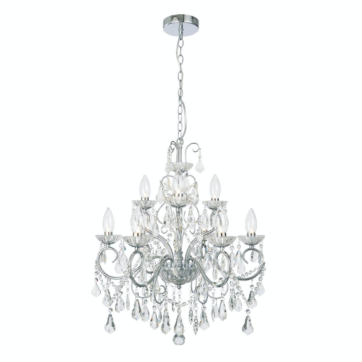 Bathroom Chandelier Lighting Forum Solen 9 Light Bathroom Chandelier