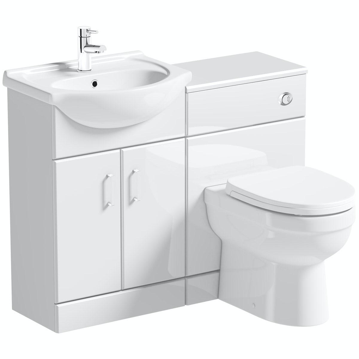 Toilet Basin Suites Toilet Sink Sets Victoriaplum Com