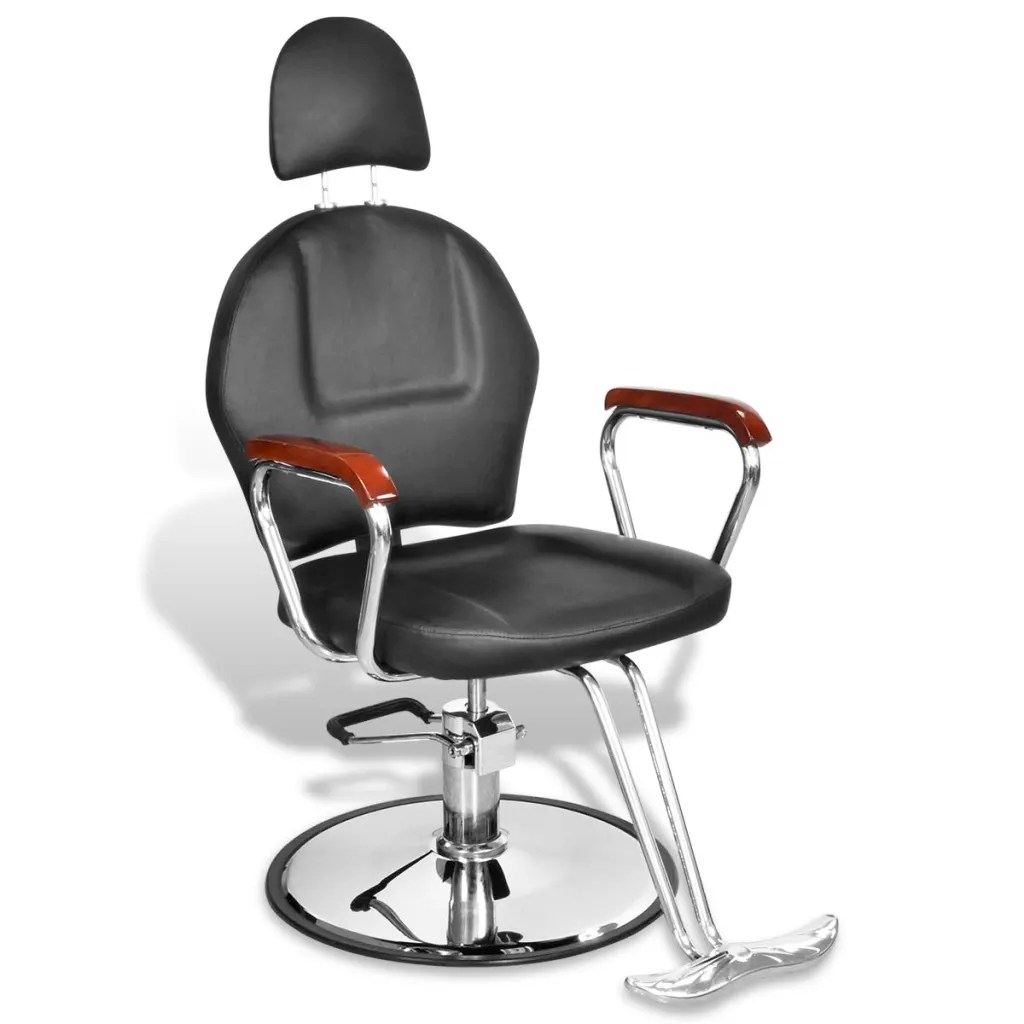 professional barber chair reviews proper posture ball with headrest artificial leather