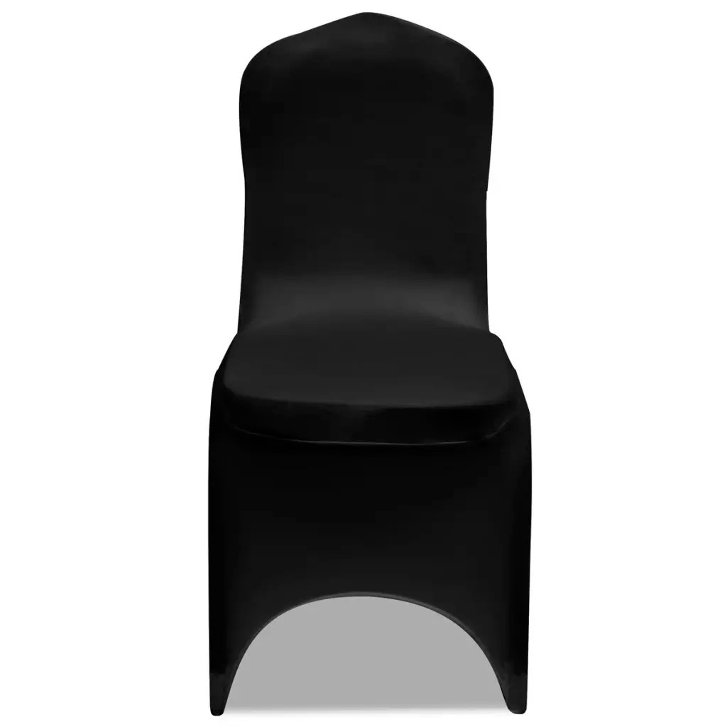 stretch chair covers for sale swinging lawn 50 pcs black cover vidaxl