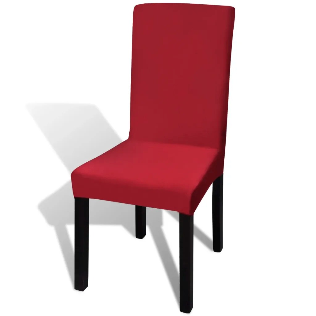chair covers for sale melbourne memory foam sleeper 6 pcs bordeaux straight stretchable cover www