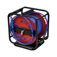 Air Hose Reel Retractable 99' | vidaXL.com