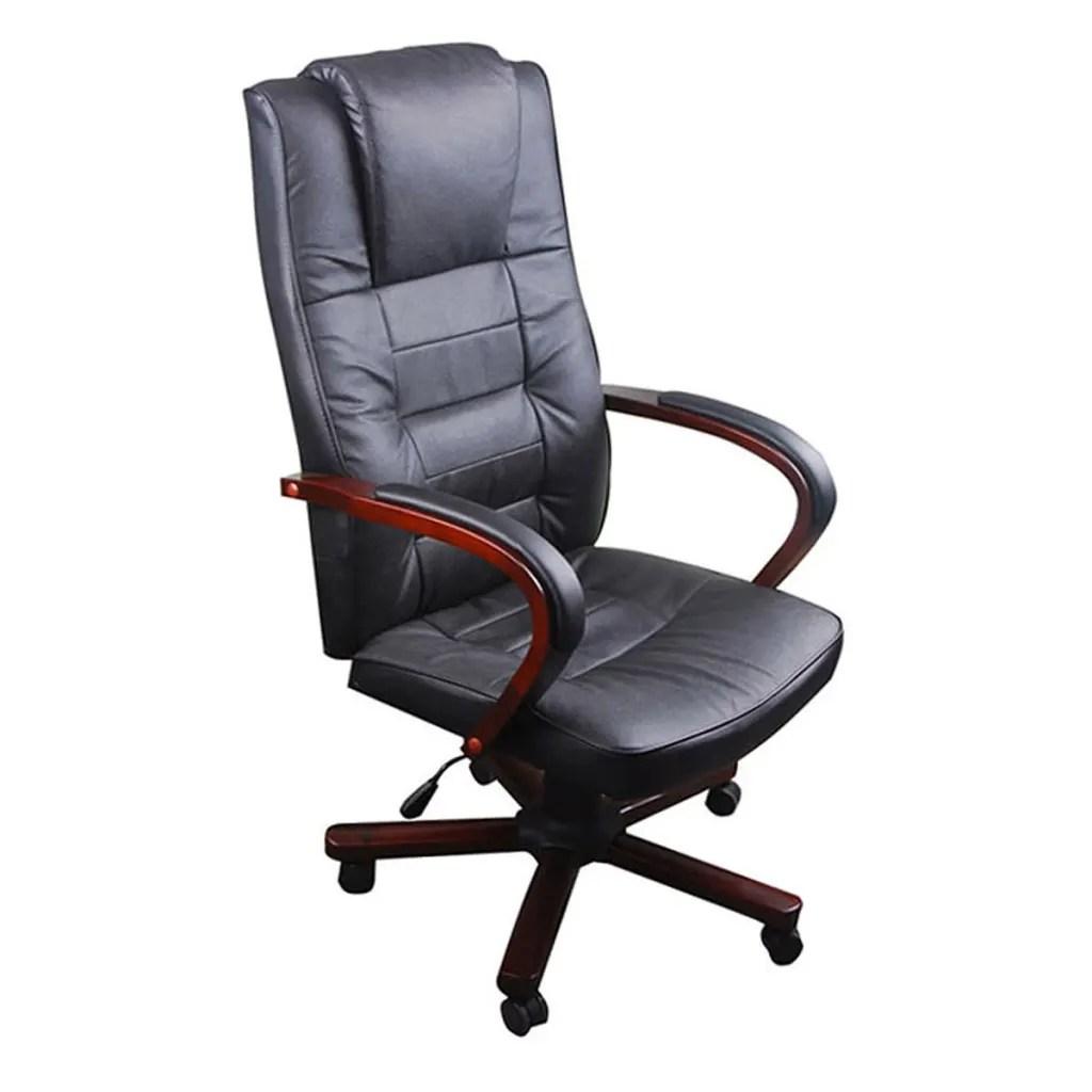 Luxury Office Chair Black  wwwvidaxlcomau