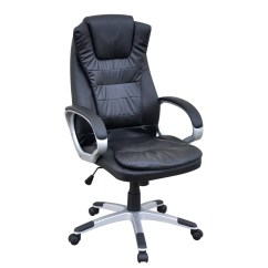 Leather Office Chairs Australia Best Chair For Developers Black Artificial Vidaxl Au