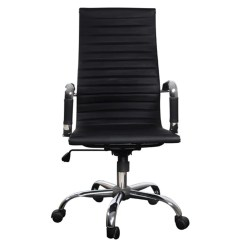 Back Support For Office Chairs Australia Stakmore Folding Table And Black Leather Chair High Vidaxl