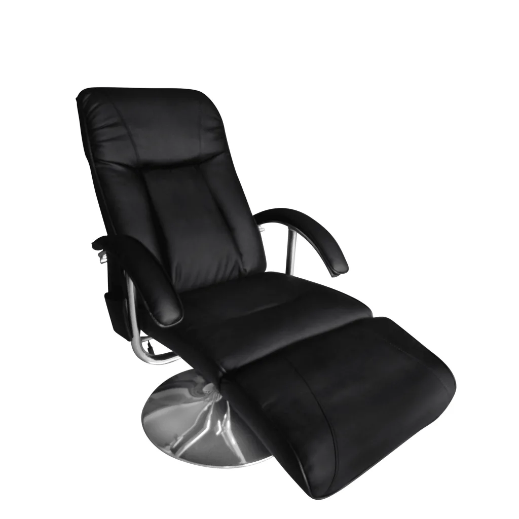 Tv Chairs Electric Tv Recliner Massage Chair Black Vidaxl Au
