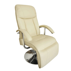 Electric Reclining Chair Bicycle Exercise Machine Tv Recliner Massage Creme White Www